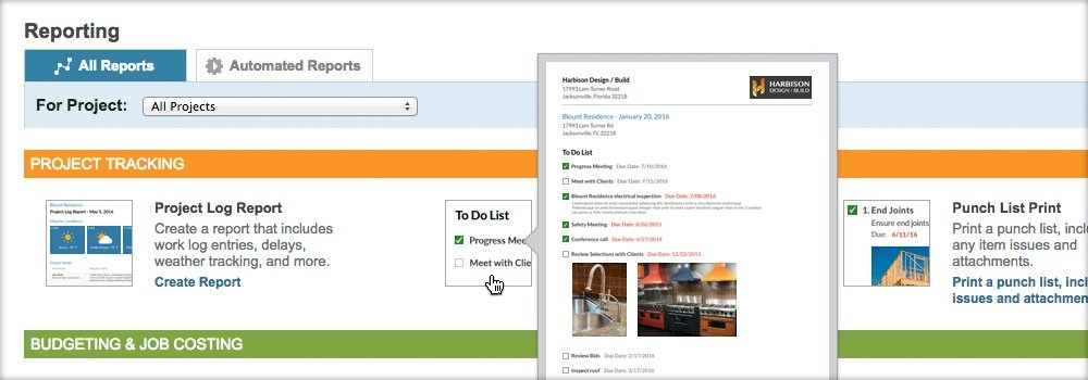 New Enhancements in ConstructionOnline™ Gameplan™