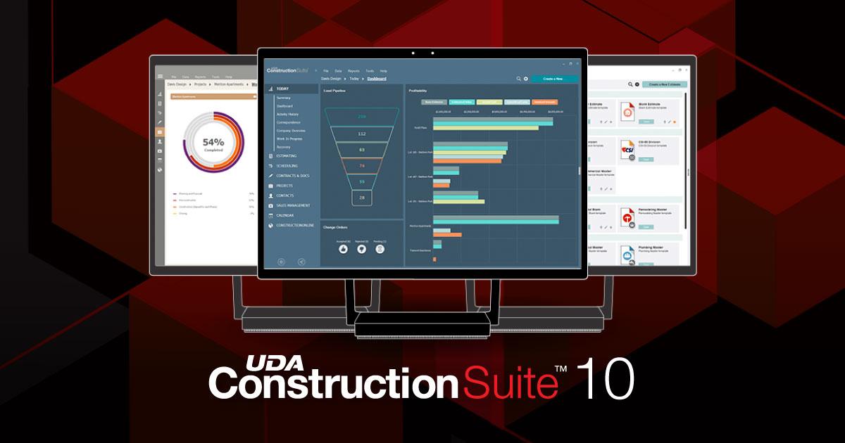 UDA Technologies Announces Release of ConstructionSuite 10