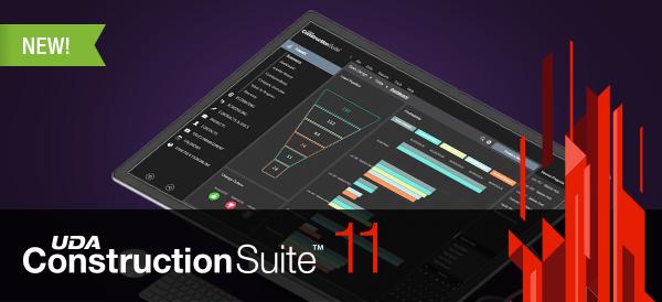 UDA Technologies Announces Release of ConstructionSuite 11